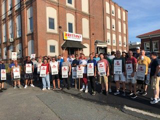 Brittany Global Technologies On Strike