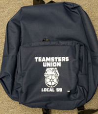 Teamsters Union Local No. 59 Backpack