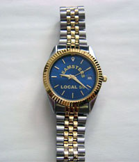 Mens' Blue Teamsters Watch