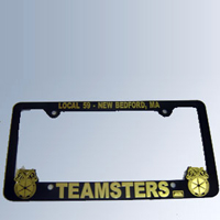 Teamsters License Plate Holder